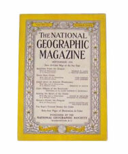 National Geographic - September, 1952 Back Issue