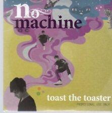 (AU406) No Machine, Toast the Toaster - DJ CD