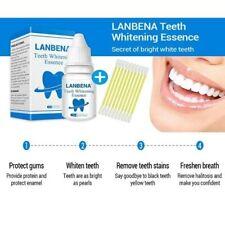 LANBENA TEETH WHITENING ORAL HYGIENE CLEANING SERUM  ESSENCE POWDER REMOVES