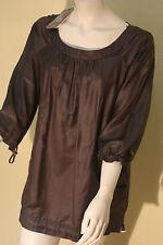 Klassische 3/4 Arm Damenblusen, - tops & -shirts mit Rundhals-Blusen im
