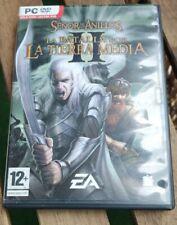 La Batalla Por La Tierra Media II, (en español, para pc) Caja verde. En español.