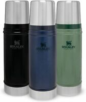 STANLEY FLASK STAINLESS STEEL THE LEGENDARY CLASSIC VACUUM BOTTLE THERMOS HOT