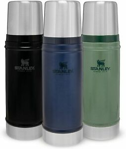 0.47L | 0.75L | STANLEY FLASK THE LEGENDARY CLASSIC VACUUM BOTTLE THERMOS HOT UK