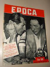 EPOCA=1952/84=ALBERTO SAVINIO=ALBERT EINSTEIN=GIUSEPPE TUCCI=USS HOBSON BOAT=