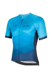 New Sweat Cycle Mens Cycling Jersey - Ocean Blue Jersey - Various Sizes - Blue