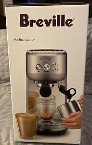Breville The Bambino Steel Espresso Maker.Brand New Unopened!!!