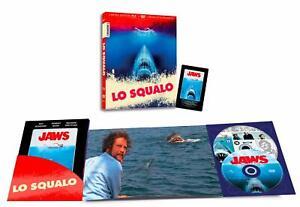 Blu Ray Lo Squalo (Blu-Ray+DVD) Edizione limitata e numerata (Booklet + Magnete)