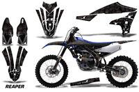 Dirt Bike Decal Graphics Kit MX Sticker Wrap For Yamaha YZ450F 2018+ REAPER BLK