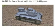 MGM 080-202 1/72 Resin WWII German Panzer II Ausf. b (Sd. Kfz. 121) Command Tank