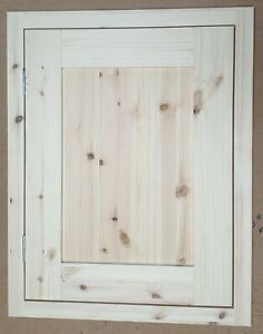 Hand Made Replacement Kitchen Doors Solid Pine In-frame Ref: Kitchen Units