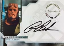 Ron Perlman as Hellboy Autograph A1 from Hellboy