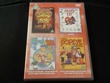 Galaxy Rangers, Popeye & Son, Krazy Kat, Popeye & Friends (DOUBLE KIDS DVD)