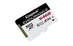 64GB Kingston High Endurance microSD Memory Card CL10 UHS-I