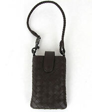 $450 NEW BOTTEGA VENETA Leather Card Holder Cell Phone Case 172765 v0013 2040