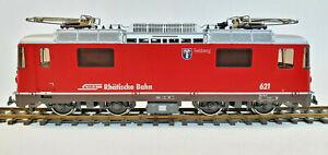"""BEMO 1258/21     RhB Ge 4/4 II 621 """"Felsberg""""   Vorführmodell, H0m, OVP"""