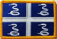 MARTINIQUE Flag Patch With VELCRO® Brand Fastener Military Emblem