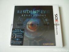 NINTENDO 3DS Resident Evil Revelations boitier collector [ NEUF ]