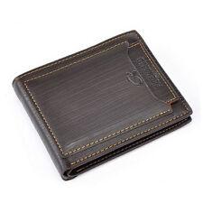 Men Business Leather Wallet Pocket Card Holder Clutch Bifold Slim Purse New