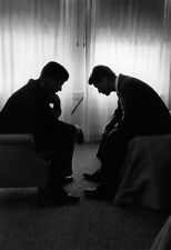 John and Bobby Kennedy Poster, Campaign Trail, Brothers, Civil Rights Activists