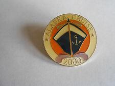 Vintage Alaska Cruise 2000 Souvenir Pin