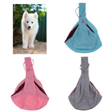 Pet Sling Carrier Hands Free Reversible Pet Papoose Bag Head Out for Cat
