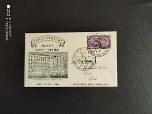 1963 Postal Conference - Dover Packet Service pictorial - Official Dover cover