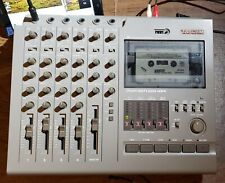Tascam 424 Portastudio 4-track Cassette Recorder for Parts / Repair. Tape stops.