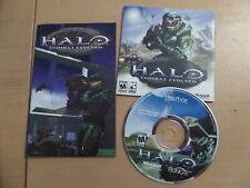 HALO Combat Evolved + 29 Page Manual PCCD ****Windows 98/ME/2000/XP*****