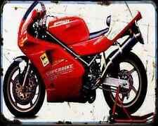 Ducati 888 Sp5 94 A4 Photo Print Motorbike Vintage Aged