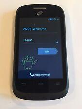 ZTE Valet Z665C - 4GB - Black - (Tracfone) - Fast Shipping