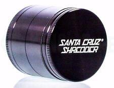 """Santa Cruz Shredder - 2"""" Medium 4 Piece Grinderr for Herb / Tobacco - Black"""