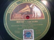 78 Rpm - Jose LUCCHESI - Tango - Vertigo - GRAMOPHONE K-5258