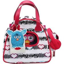 Furby Bowling Bag Carrier including headphones, Hasbro, White NEW
