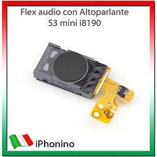 Flex Speaker Voce Altoparlante S3 MINI i8190 GALAXY Flat Ricambio per Samsung