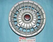 FIAT 500 F/L/R 126 4 CERCHI IN LEGA RUOTE DA 4,5 X 12 SILVER A RAGGI EPOCA 4X19
