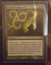 Mtg primal command foil x 1 great condition