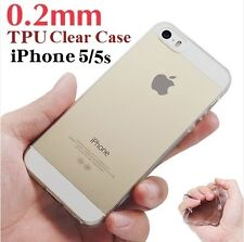 Apple iPhone 5 5s SE Transparent Clear Soft Case TPU Rubber Case