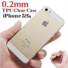 Apple iPhone 5 5s SE Transparent Clear Soft Case TPU Rubber Case