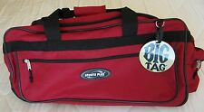 """ROLLING DUFFLE BAG 28"""" OLYMPIA SPORTS PLUS TRAVEL LUGGAGE ELEGANCE COLLECTION"""