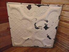 Vintage Antique 1800's Tin Ceiling Tile Arts Crafts Bedroom Kitchen Bathroom!
