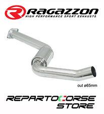 RAGAZZON SCARICO CENTRALE INOX ALFA ROMEO GT 3.2 V6 24V 177kW 241CV 2004►