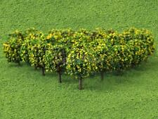 50pcs 35mm N Z GAUGE SCALE FLOWER FRUIT TREES SHRUBS