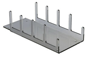 Clear Acrylic Perspex Plastic Plate Display Stand