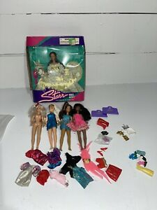 Vintage Starr Model Agency  Doll Lot 6 JPI with Outfits