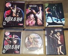 Killer Is Dead - Limited Edition (Sony PlayStation 3, 2013) PS3 Complete - NTSC
