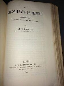 DU SOUS-NITRATE DE BISMUTH, 1866.