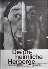 L'AUBERGE ROUGE The Red Inn German A1 movie poster R61 FERNANDEL HANS HILLMANN