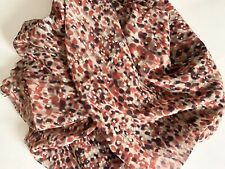 "New 2 Yards 56""-58"" Wide Printed Chiffon Georgette 100% Polyester Fabric"