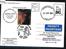 97797) AUA Olympiade So-LP Wien - Athen 13.8.2004, GA(?) ab Tanzania R!