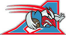 "Montreal Alouettes CFL Football bumper sticker, window decor vinyl decal 5""x2.6"""